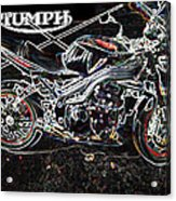 Triumph Abstract Acrylic Print