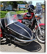 Triumph Motorcycle With Sidecar 5d28099 Acrylic Print