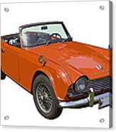 Triumph Tr4 - British - Sports Car Acrylic Print