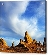 Trona Pinnacles California Acrylic Print by Bob Christopher