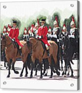 Trooping Of The Colour Acrylic Print