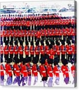 Trooping The Colour Acrylic Print