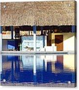 Tropical Bar Acrylic Print
