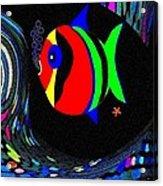 Tropical Cave Fish 2 Acrylic Print