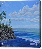 Tropical Day Acrylic Print