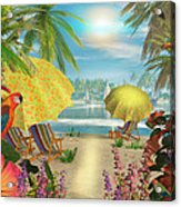 Tropical Delight Acrylic Print