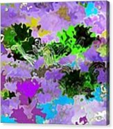 Tropical Fish Abstraction Acrylic Print
