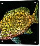 Tropical Fish Art 14 By Sharon Cummings Acrylic Print