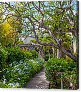 Tropical Garden. Mauritius Acrylic Print