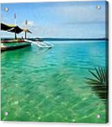 Tropical Getaway Acrylic Print