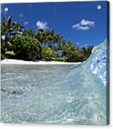Tropical Glass Acrylic Print