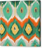 Tropical Ikat II Acrylic Print
