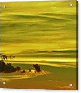 Tropical Isle In The Sky Acrylic Print