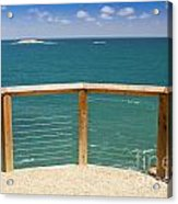 Tropical Lookout Acrylic Print