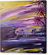 Tropical Magic Acrylic Print
