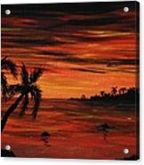 Tropical Night Acrylic Print