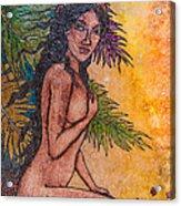 Tropical Nude Acrylic Print