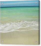 Tropical Ocean Beach Acrylic Print
