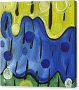 Tropical Rain Acrylic Print