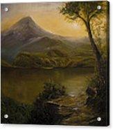 Tropical Scenery Acrylic Print