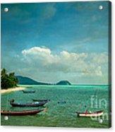 Tropical Seas Acrylic Print