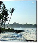 Tropical Shore Acrylic Print