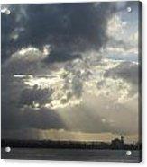 Tropical Stormy Sky Acrylic Print