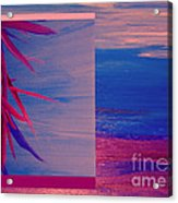 Tropical Sunrise By Jrr Acrylic Print by First Star Art