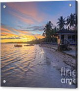 Tropical Sunrise Acrylic Print