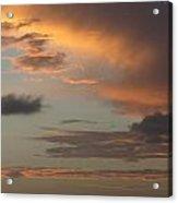 Tropical Sunset Sky Acrylic Print