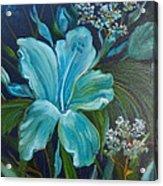 Tropical Turquoise Acrylic Print