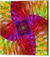 Tropical Twist Acrylic Print