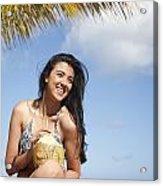 Tropical Vacationer Acrylic Print