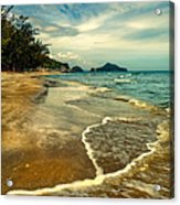 Tropical Waves Acrylic Print