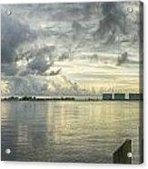 Tropical Winds In Orange Beach Acrylic Print