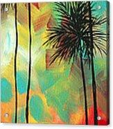 Tropics By Madart Acrylic Print