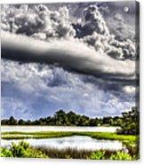 Troubled Sky Acrylic Print