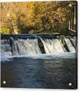 Trout Run Creek Dam 2 Acrylic Print