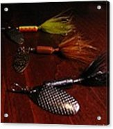 Trout Temptation Acrylic Print