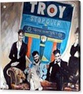 Troy Stopover Acrylic Print