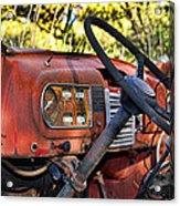 Truck Dash Acrylic Print