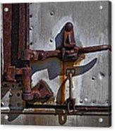 Truck Handle Acrylic Print