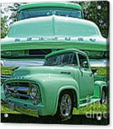Truck In Grill Hdr Acrylic Print