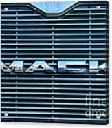 Truck - The Mack Grill Acrylic Print