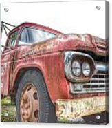 Truck Treasure Acrylic Print