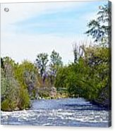 Truckee River  Acrylic Print