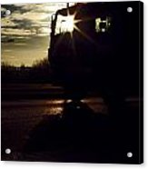 Truckle Vision Acrylic Print by Anthony Bean