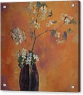 Trudi's Vase Acrylic Print