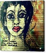 True Beauty Is Soul-deep Acrylic Print