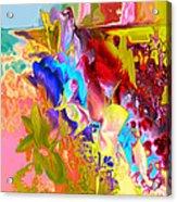 True Colours Acrylic Print by Soumya Bouchachi